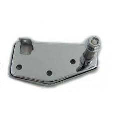 Brake Pedal Mount Plate Rear Chrome 23-0102