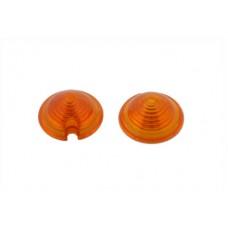 Bullet Style Marker Lamp Amber Lens Set 33-0575