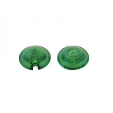 Bullet Style Marker Lamp Green Lens Set 33-0572
