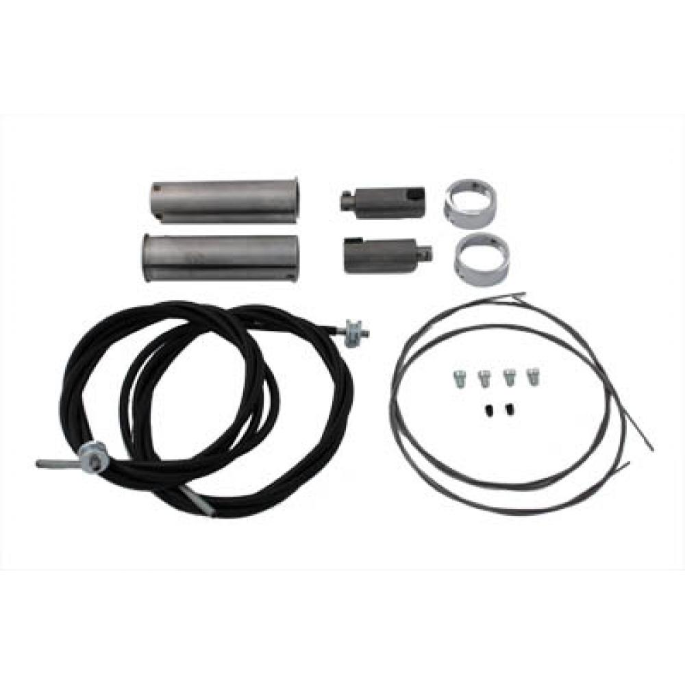 Cable Kit for Throttle and Spark Controls for Harley Davidson by V-Twin