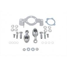 Carburetor Support Bracket Chrome 34-0852
