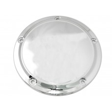 Chrome 5-Hole Smooth Derby Cover 42-0190