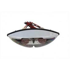 Chrome ABS Big Eye LED Tail Lamp 33-0643