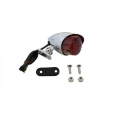 Chrome Bullet Style Tail Lamp 33-0061