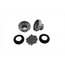 Chrome Complete Neck Cup Kit 24-0134