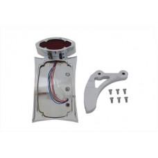Chrome Curved Odin Style Tail Lamp Kit 33-0462