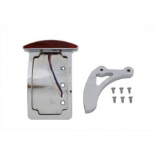 Chrome Curved Slice Style Tail Lamp Kit 33-0686