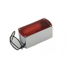 Chrome Die Cast Box Style Tail Lamp 33-0310