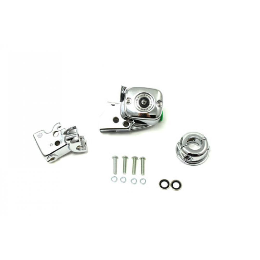 Handlebar Control Cover Kit Chrome V-Twin 26-0538