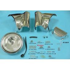 Chrome Headlamp Cowl Kit 33-0279