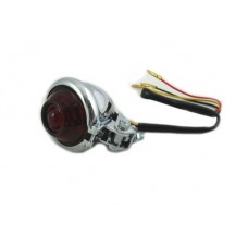 Chrome LED Bullet Style Tail Lamp Assembly 33-1045