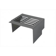 Chrome Louvered Battery Side Cover 42-0500