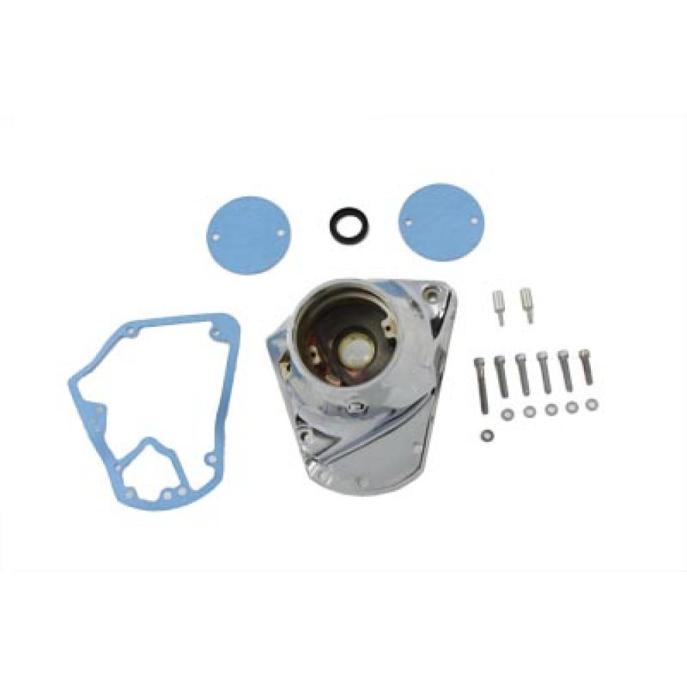 Polished Nose Cone Cam Cover V-Twin 10-0090