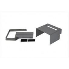 Chrome Slotted Battery Cover Kit 42-0542