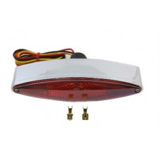 Chrome Snake Eye Style Tail Lamp 33-0439
