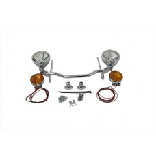 Chrome Spotlamp Kit with Turn Signals 33-2205