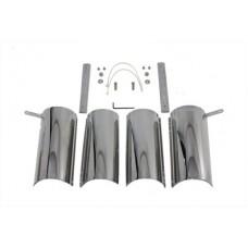 Chrome Upper Fork Covers 24-0228