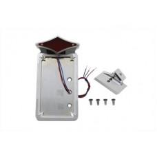 Chrome Vertical LED Tail Lamp Kit Diamond Style 33-0773