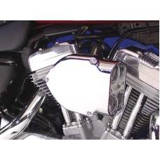 Chrome Wyatt Gatling Air Cleaner Kit 34-0636