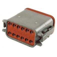 Deutsch Sealed 12 Wire Connector Component 32-9614