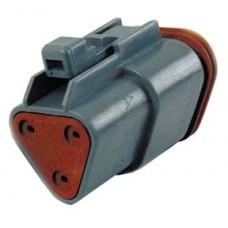 Deutsch Sealed 3 Wire Connector Component 32-9618