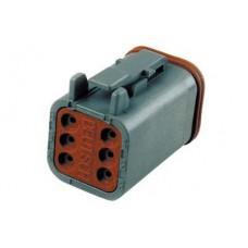 Deutsch Sealed 6 Wire Connector Component 32-9622