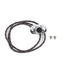 Handlebar Horn Switch Button with Single Wire 32-0574