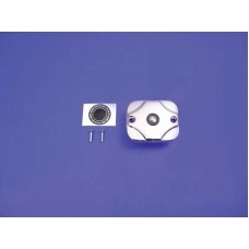 Handlebar Master Cylinder Cover Chrome 24-0604