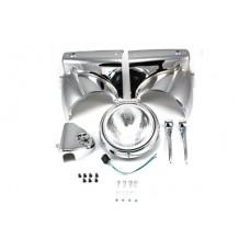 Headlamp Cowl Assembly, Chrome 24-0355