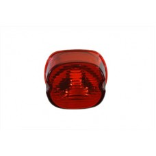 Laydown Style Red Tail Lamp Lens 33-0930