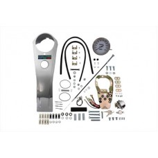 Long Rider Style Dash Kit with 2:1 Speedometer 39-0973