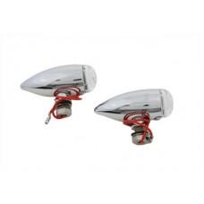 Mini Bullet Clear Lens Marker Lamp Set 33-0453