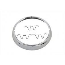 Outer Headlamp Trim Rim Chrome 33-2134