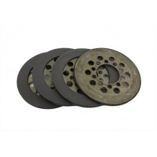 Police Clutch Steel Plates 18-1124