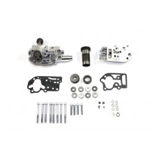 Polished Oil Pump Assembly with Breather 12-9802