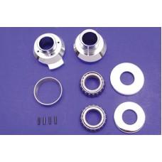 Raked Fork Neck Cup Kit, Chrome 24-0295