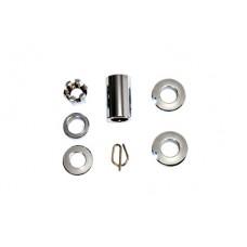 Rear Axle Spacer Kit Chrome 2026-5