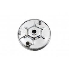 Rear Mechanical Brake Backing Plate Kit Chrome 22-0745
