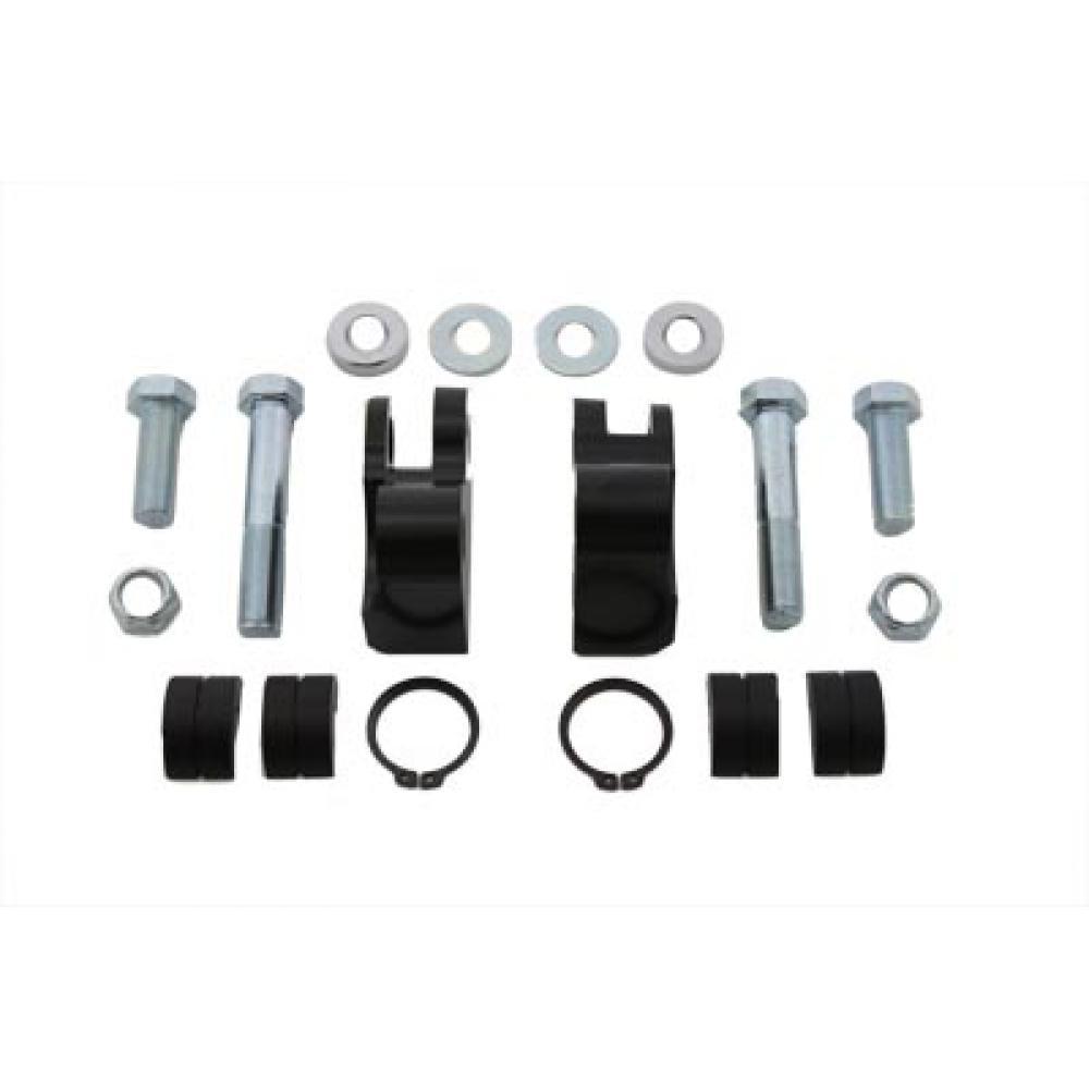 Rear Shock Lowering Kit Black,for Harley Davidson,by V-Twin