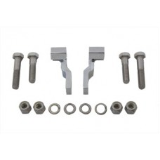 Rear Shock Lowering Kit Chrome 54-0128