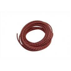 Red 25' Cloth Covered Wire 32-8095