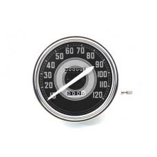 Replica 2:1 Speedometer with White Needle 39-0427