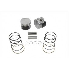 Replica 883cc Piston Set .005 Oversize 11-0242