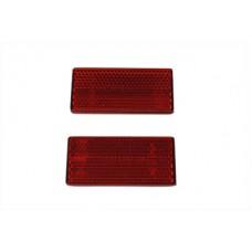 Replica Red Reflector Set For Struts 33-0016