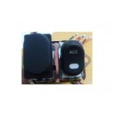 Rocker Style LED Handlebar Switch Kit Black 32-7016