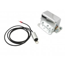 Solid State 6 Volt Relay with Chrome Cover 32-7750
