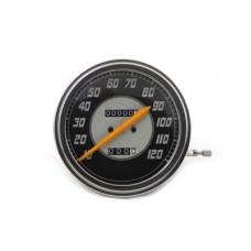 Speedometer with 2:1 Ratio and Orange Needle 39-0976