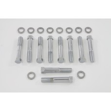 Stock Head Bolt with Washer Chrome 8221-20