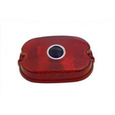 Tail Lamp Blue Dot Red Plastic Lens 33-0519
