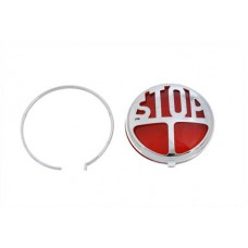 Tail Lamp Lens Kit Stop Style Red 33-1916